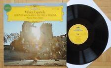 O737 NARCISO YEPES MUSICA ESPANOLA ALBENIZ GRANADOS FALLA TURINA DG DGG STEREO