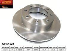 Disc Brake Rotor-4WD Front Best Brake GP54124