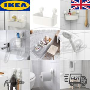 IKEA TISKEN - Bathroom Storage Accessories- Hanger Basket Shelf Holder - Fast √