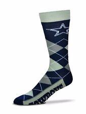 NFL Dallas Cowboys Argyle Unisex Crew Cut Socks - One Size Fits Most