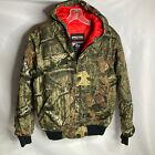 Mossy Oak Pursuits Walls Kidz Size XL 16-18 Camouflage Hooded Full Zip Jacket