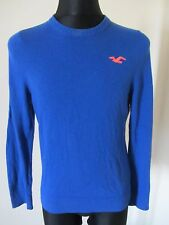 HOLLISTER Men LIGHT Jumper Sweater LARGE