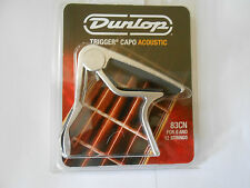 Jim Dunlop 83CN Acoustic Guitar 6 or 12 String Trigger Nickel Curved Capo