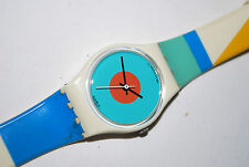 1988 Vintage Swatch Watch LW118 NAB LIGHT Swiss Ladies Quartz Plastic Originals