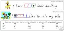 SIGHT WORD SENTENCE STRIPS - teacher resource LITERACY
