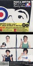 "MUSIC IS NOT FUN ""British rendez-vous"" CD Digipack NEW"