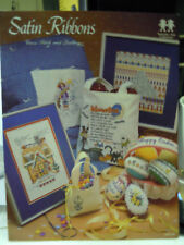 Satin Ribbons Cross Stitch & Quilting pattern chart