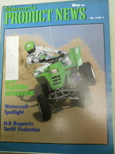 Motorcycle Product News, May 1987, ATV Feature Interview,   Blue box 2