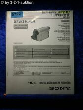 Sony Service Manual DCR TRV12E TRV14E TRV19 TRV19E Level 2 Digital Video (#5722)