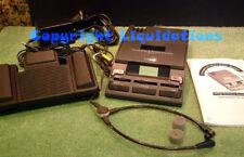 Philips LFH 720 Mini Cassette Transcriber, Transcription / Dictation Machine
