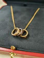 Cartier Love Collection Necklace (18ct Gold, Diamond & Ceramic)