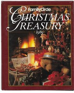 1989 Family Circle Christmas Treasury; Hardback book