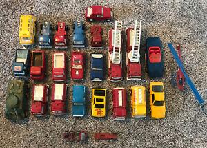 1960's / 1970's Matchbox, Redline Hot Wheels, TootsieToy, Corgi Toys 25 Car Lot