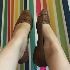 Vintage Woven Leather Flats 1980s Huaraches Women's Size 9