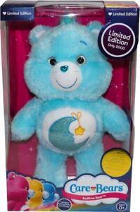 "CARE BEARS - Bedtime Bear 14"" Limited Edition Plush (Headstart) #NEW"