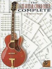 """THE JAZZ GUITAR CHORD BIBLE-COMPLETE"" MUSIC BOOK-BRAND NEW ON SALE WARREN NUNES"