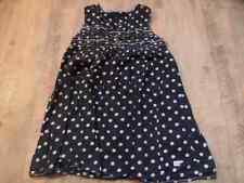IKKS belle robe d'été bleu M. points polka dots taille 8 J top bi117