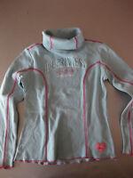 Bennetton Barbie Pullover Gr.8(128-140) Rollkragen Shirt, Langarm, Iceprincess