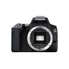 Canon Eos 250D Body Only Digital Slr Camera - Black [kit box]