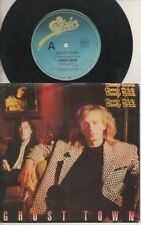 """CHEAP TRICK   Rare 1988 Aust Only 7"""" OOP Epic Hard Rock P/C Single """"Ghost Town"""""""