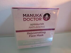 MANUKA DOCTOR - APINOURISH - ANTI-AGEING REJUVINATING FACE MASK - BEE VENOM 50ml