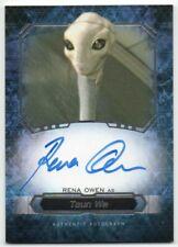 2016 Star Wars Masterwork Autographs Rena Owen Taun We Auto