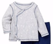 NEW STERLING BABY 100% Cotton Elephant Top & Pants Set Baby Boys Sz 6M - NWT