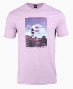 OAKLEY Men Outer Limits Training S/S T-Shirt Pink Tee Top Shirts FOA40173889G