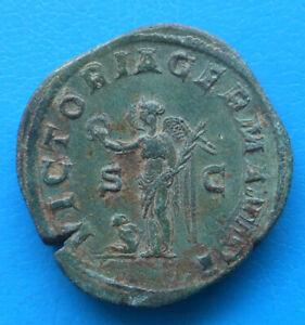 Maximin 1er Maximinus I sesterce VICTORIA GERMANICA
