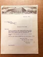 1924 Billhead of THE HETTRICK MFG. CO. of Toledo, Ohio w/ lithos of their plants