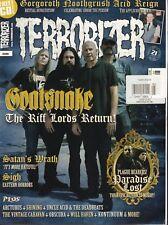 Terrorizer #260 May 2015 Goatsnake Satan's Wrath Sign 012918DBE2