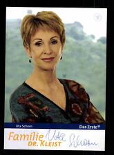 Uta Schorn Familie Dr Kleist  Autogrammkarte Original Signiert # BC 83353