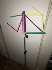 K&M Aluminum Tripod Music Sheet Stand 1980s Multi Color Rainbow German Made