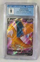 Pokemon Charizard V (2020) Black Star Promo SWSH050 CGC 9 Mint