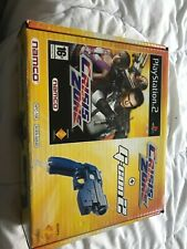 CRISIS ZONE +G-CON 2 PS2 (gun) COMPLET Namco playstation pistolet