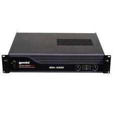 """Gemini XGA-4000 Pro Lightweight 4000W 2-Channel PA Power Amplifier 19"""" Rack Amp"""