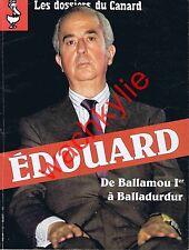 Les dossiers du canard n°53 du 10/1994 Édouard Balladur Sarkozy