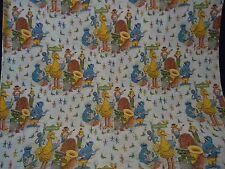 Vintage SESAME STREET BAND Large Fabric Panel (136cm x 210cm)