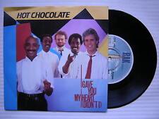 Chocolat Chaud - I gave you my heart ( Didn't I ) / Jeannie, rak-369 EX+ état
