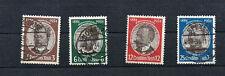 Deutsches Reich MiNr. 540 - 543  (.) gestempelt