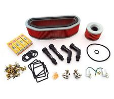 Deluxe Tune Up Kit - Plugs Caps Oil Air Filter Carb Kits - CB750K CB750 69-71
