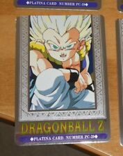 DRAGON BALL Z DBZ HERO COLLECTION PART 3 PLATINA CARD PRISM CARTE PC-29 MINT
