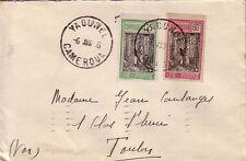 CAMEROUN - N°114 ET 120 SUR LETTRE DE YAOUNDE POUR LA FRANCE LE 6-4-1934