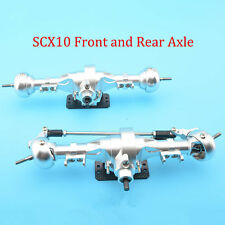 CNC Machined 1/10 SCX10 Rc Car Complete Alloy Front And Rear Axle Crawler 1567
