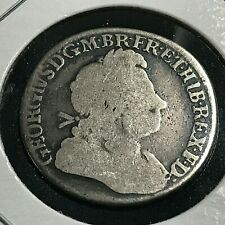 1723 GREAT BRITAIN SILVER SHILLING  COIN
