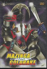 Dvd **MAZINGA VS GOLDRAKE ♦ MAZINGER CONTRO GRANDIZER** Go Nagai usato 1976
