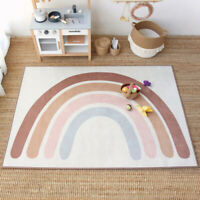 Nordic Rainbow Carpet for Home Living Room Non-slip Area Rugs Floor Mats Decor