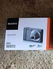 Sony DSC-W810 Cyber Shot Camera 6x Optical Zoom 20.1MP Silver UPC 027242878228