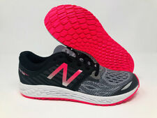 New Balance Kid's Zante V3 Running Shoe, Black/Pink, 4.5 M US Big Kid