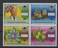 NIUE, SHIPS, BOATS, STAMPS, 1983 Mi. 486-489 **